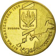 Monnaie, Pologne, Battle Of Warsaw, 2 Zlote, 2010, Warsaw, TB+, Laiton, KM:735 - Pologne