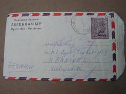 AU Cv. Aerogramme 1952 - 1952-65 Elizabeth II: Dezimalausgaben (Vorläufer)