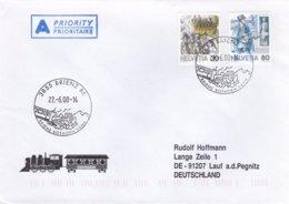 Train Cover: Switzerland Brienz 2000 Brienz Rothorn Bahn (0026) - Trenes