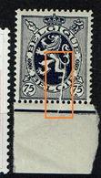 288  **  Bdf  Pli Accordéon - Abarten Und Kuriositäten