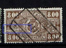 TR 160  Obl  Pli Accordéon - Abarten Und Kuriositäten