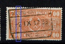 TR 159  Obl  Ardoie  Pli Accordéon - Abarten Und Kuriositäten
