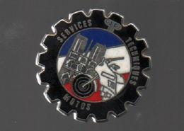 Pin's BALLARD SERVICES TECHNIQUES POUR MOTOS DE LA POLICE NATIONAL......BT3 - Police