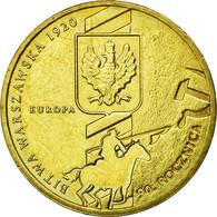 Monnaie, Pologne, Battle Of Warsaw, 2 Zlote, 2010, Warsaw, TTB+, Laiton, KM:735 - Pologne