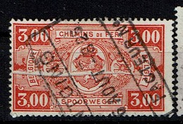 TR 154  Obl  Antoing  Pli Accordéon - Abarten Und Kuriositäten