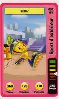 Trading Card Carte Auchan La Fete Du Sport 2014 Verso Domino Tex Avery N° 92 - Trading Cards