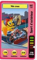 Trading Card Carte Auchan La Fete Du Sport 2014 Verso Domino Tex Avery N° 87 - Trading Cards