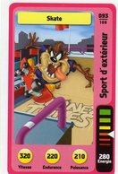 Trading Card Carte Auchan La Fete Du Sport 2014 Verso Domino Tex Avery N° 93 - Trading Cards