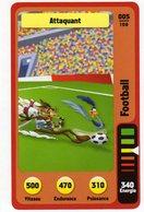 Trading Card Carte Auchan La Fete Du Sport 2014 Verso Domino Tex Avery N° 05 - Non Classificati