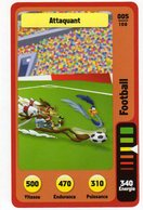Trading Card Carte Auchan La Fete Du Sport 2014 Verso Domino Tex Avery N° 05 - Trading Cards
