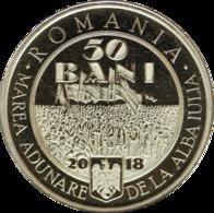 ROMANIA -2018-  50 BANI  - COMMEMORATIVE COINS - 100 Years Since The Union Of TRANSYLVANIA With Romania UNC - Roumanie