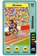 Trading Card Carte Auchan La Fete Du Sport 2014 Verso Domino Tex Avery N° 49 - Trading Cards