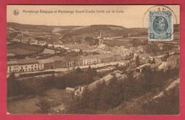 Martelange Belgique Et Martelange Grand-Duché Limité Par La Route - 1926 ( Voir Verso ) - Martelange