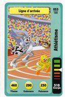 Trading Card Carte Auchan La Fete Du Sport 2014 Verso Domino Tex Avery N° 53 - Trading Cards