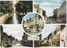 Cupar: River Eden, St. Catherines Street, Crossgate, Bonnygate, The Cross - (Scotland) - Fife