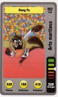 Trading Card Carte Auchan La Fete Du Sport 2014 Verso Domino Tex Avery N° 62 - Trading Cards