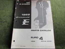 Evinrude Outboard Euro 4 Parts Catalog 1969 - Schiffe