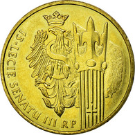 Monnaie, Pologne, Senate Eagle And Speaker's Staff, 2 Zlote, 2004, Warsaw, TTB+ - Pologne