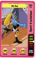 Trading Card Carte Auchan La Fete Du Sport 2014 Verso Domino Tex Avery N° 94 - Trading Cards