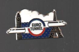 Pin's ARTHUS BERTRAND PARIS EURO TUNNEL.TGV.....BT3 - Arthus Bertrand