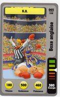 Trading Card Carte Auchan La Fete Du Sport 2014 Verso Domino Tex Avery N° 65 - Trading Cards