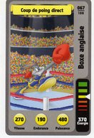 Trading Card Carte Auchan La Fete Du Sport 2014 Verso Domino Tex Avery N° 67 - Trading Cards