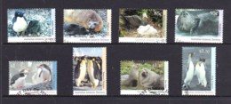 Australian Antarctic 1992 Regional Wildlife I & II Set Of 8 Used - Australian Antarctic Territory (AAT)