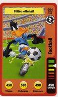 Trading Card Carte Auchan La Fete Du Sport 2014 Verso Domino Tex Avery N° 4 - Trading Cards