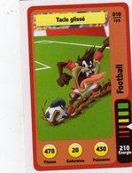 Trading Card Carte Auchan La Fete Du Sport 2014 Verso Domino Tex Avery N° 10 - Trading Cards
