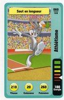 Trading Card Carte Auchan La Fete Du Sport 2014 Verso Domino Tex Avery N° 60 - Non Classificati