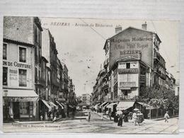 Béziers. Avenue De Bédarieux. Animée - Beziers