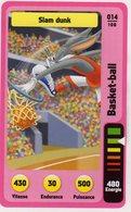 Trading Card Carte Auchan La Fete Du Sport 2014 Verso Domino Tex Avery N° 14 - Non Classificati