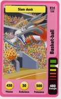 Trading Card Carte Auchan La Fete Du Sport 2014 Verso Domino Tex Avery N° 14 - Trading Cards