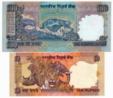BANK OF INDIA // Commemorative Bill // 100 + 10 Rupee // AU // SPL - Inde