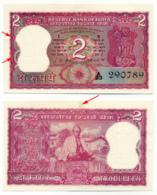 BANK OF INDIA // Commemorative Bill // 2 + 2x5 Rupee // AU // SPL - Inde