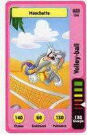 Trading Card Carte Auchan La Fete Du Sport 2014 Verso Domino Tex Avery N° 20 - Non Classificati