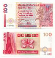 1997 // STANDARD CHARTERED BANK // Commemorative Bill // ONE HUNDRED DOLLARS // UNC - Hong Kong