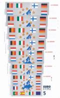 1997/98 // Specimen // 5/10/20/50/100/200/500 Euros - Specimen