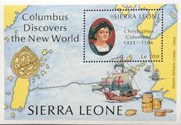 Sierra Leone    1992 Discovery Of America 500th. Anniv. S/S - Sierra Leone (1961-...)