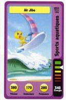Trading Card Carte Auchan La Fete Du Sport 2014 Verso Domino Tex Avery N° 31 - Non Classificati