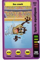 Trading Card Carte Auchan La Fete Du Sport 2014 Verso Domino Tex Avery N° 34 - Non Classificati
