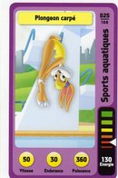 Trading Card Carte Auchan La Fete Du Sport 2014 Verso Domino Tex Avery N° 25 - Trading Cards