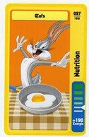 Trading Card Carte Auchan La Fete Du Sport 2014 Verso Domino Tex Avery N° 97 - Non Classificati