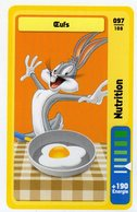 Trading Card Carte Auchan La Fete Du Sport 2014 Verso Domino Tex Avery N° 97 - Trading Cards