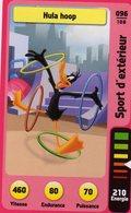 Trading Card Carte Auchan La Fete Du Sport 2014 Verso Domino Tex Avery N° 96 - Trading Cards
