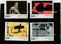 FRANCE 1992 N°2779**AU N°2782** SERIE ARTISTIQUE - France