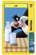 Trading Card Carte Auchan La Fete Du Sport 2014 Verso Domino Tex Avery N° 100 - Non Classificati