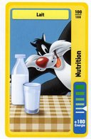 Trading Card Carte Auchan La Fete Du Sport 2014 Verso Domino Tex Avery N° 100 - Trading Cards