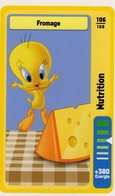 Trading Card Carte Auchan La Fete Du Sport 2014 Verso Domino Tex Avery N° 106 - Non Classificati