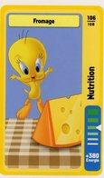 Trading Card Carte Auchan La Fete Du Sport 2014 Verso Domino Tex Avery N° 106 - Trading Cards